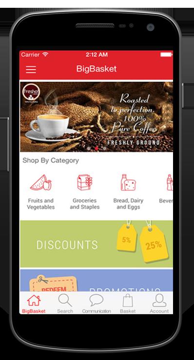 Bigbasket Mobile App Development1