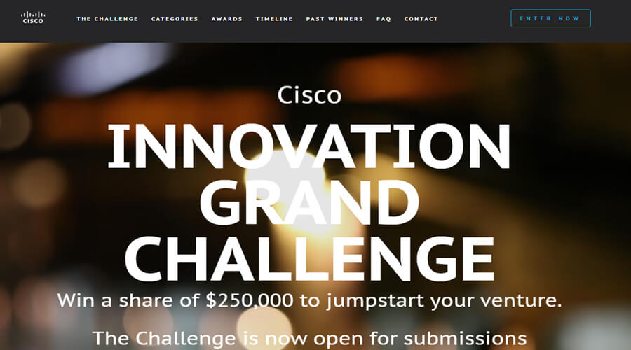 Cisco Innovation Grand Challenge: You Can Win a Share of $250,000