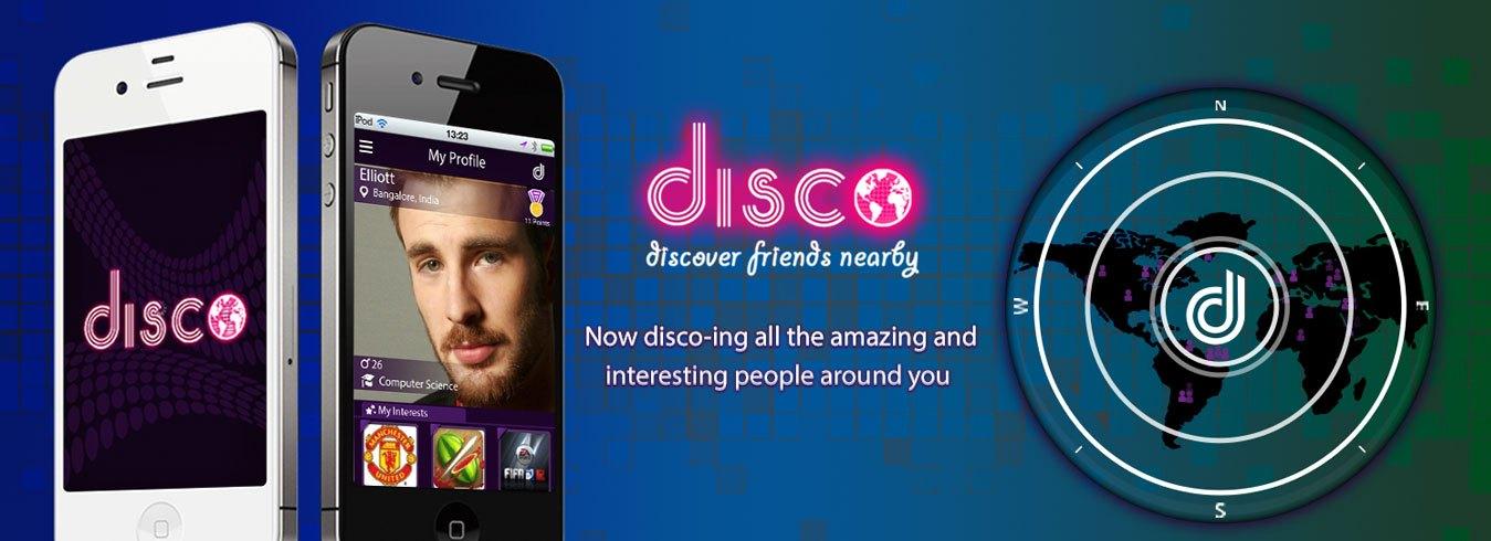 Disco-banner