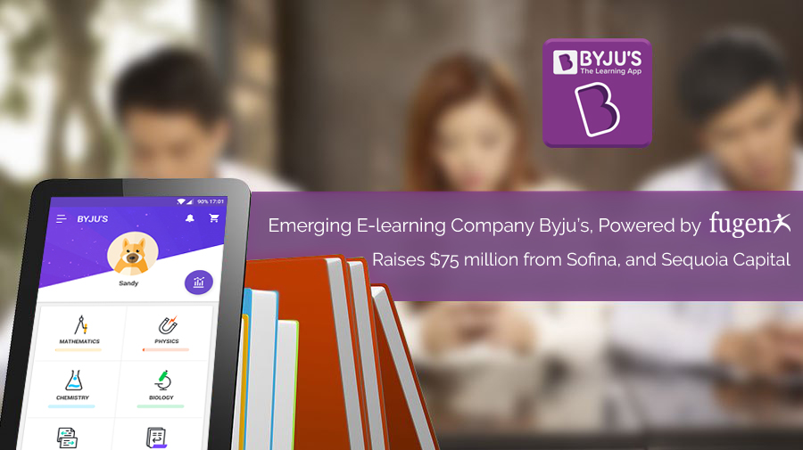 Emerging E-learning Company Byju's, Powered by FuGenX