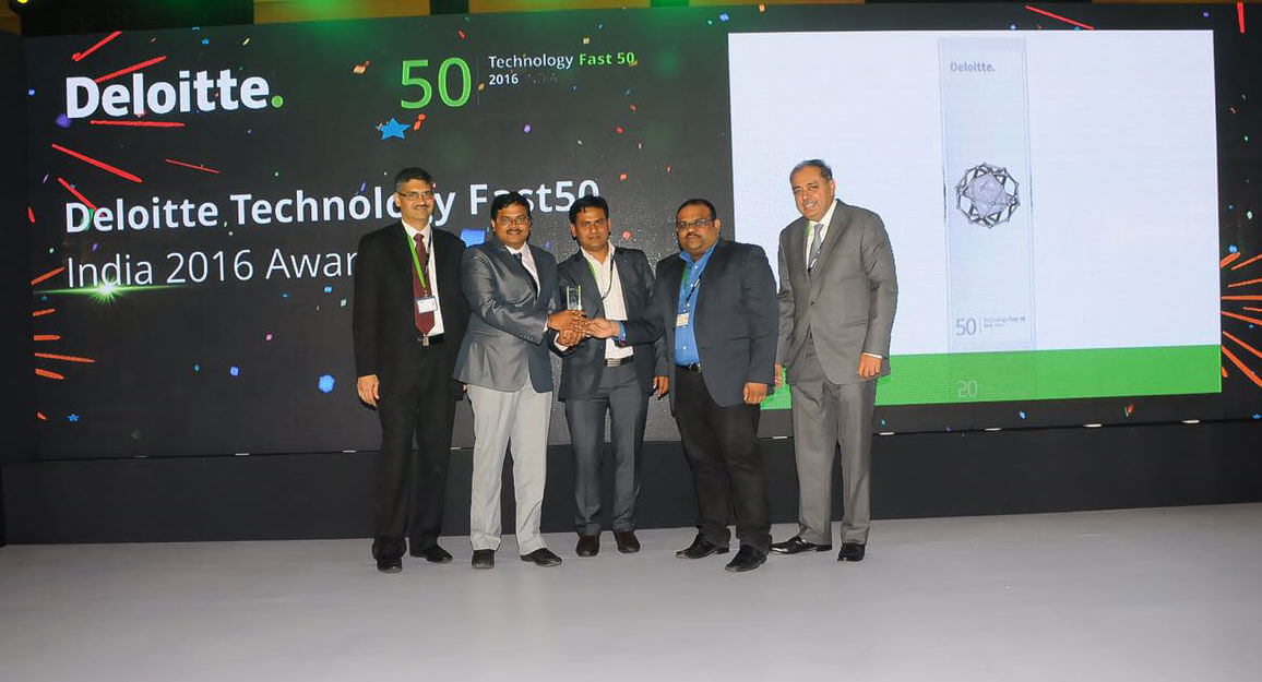 FuGenX Ranks 23rd on Deloitte Technology Fast 50 India 2016