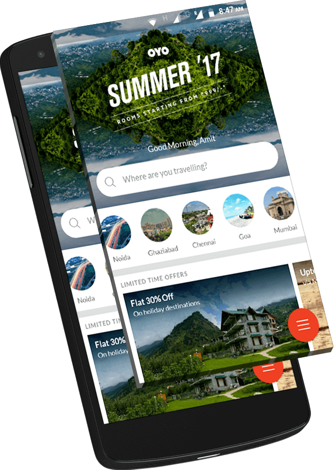 Oyo-Rooms-famous-app