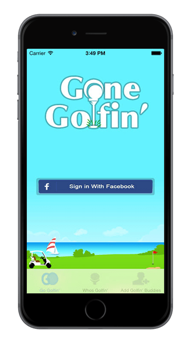 iPhone-Application-Gone-Golfin