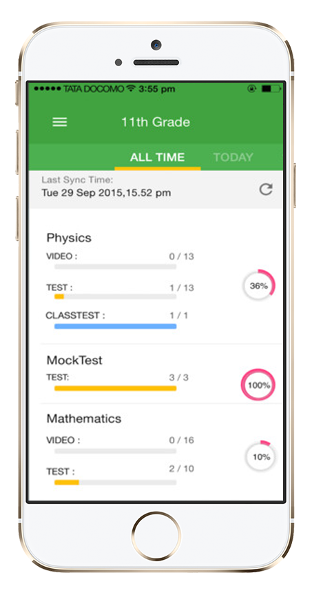 Byjus - Casestudy | Best E-Learning Application for iOS