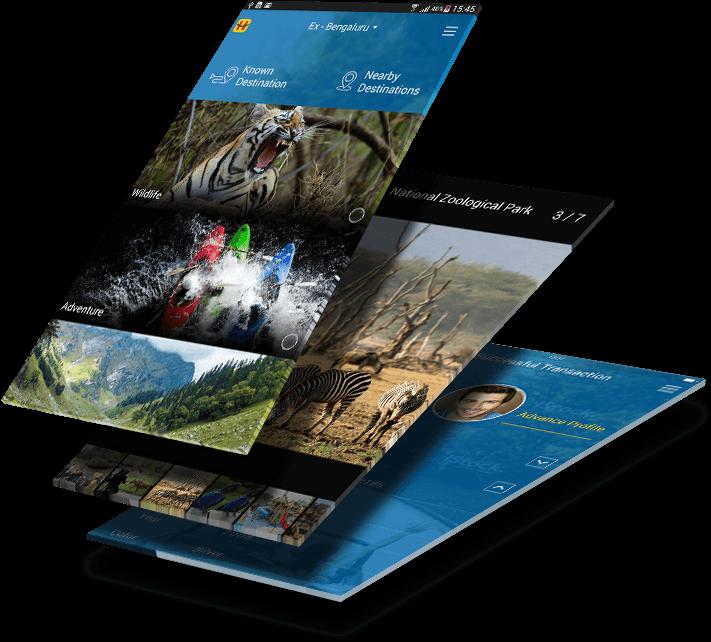 Happy Roads mobile app design2