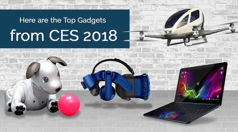 Here are the Top Gadgets from CES 2018