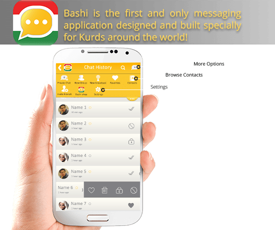 Bashi_Messaging_application