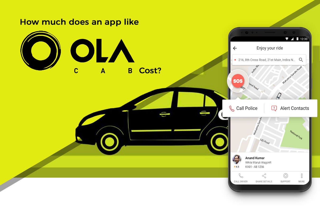 How Much Does it Cost to Develop an App like Ola