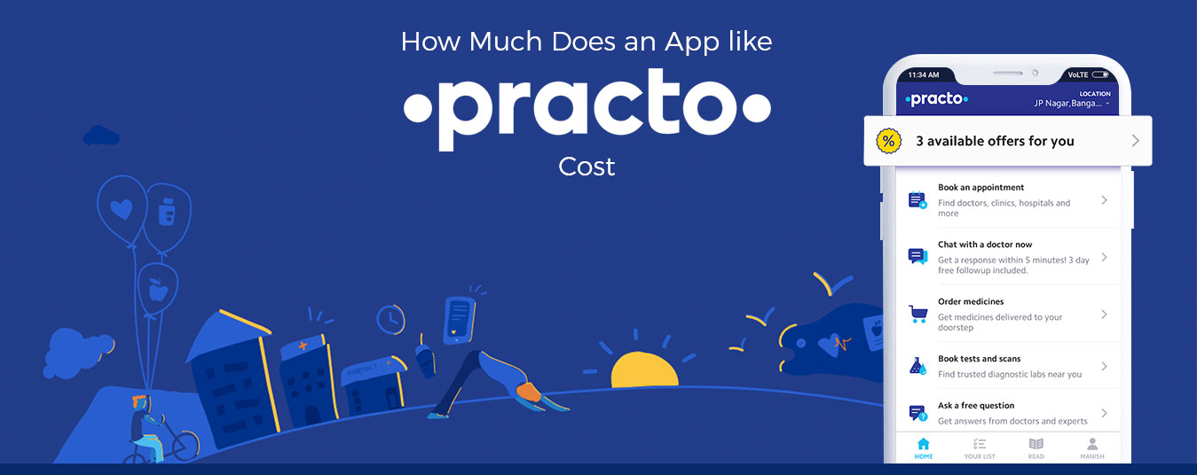 How Much Does it Cost to Develop an App like Practo