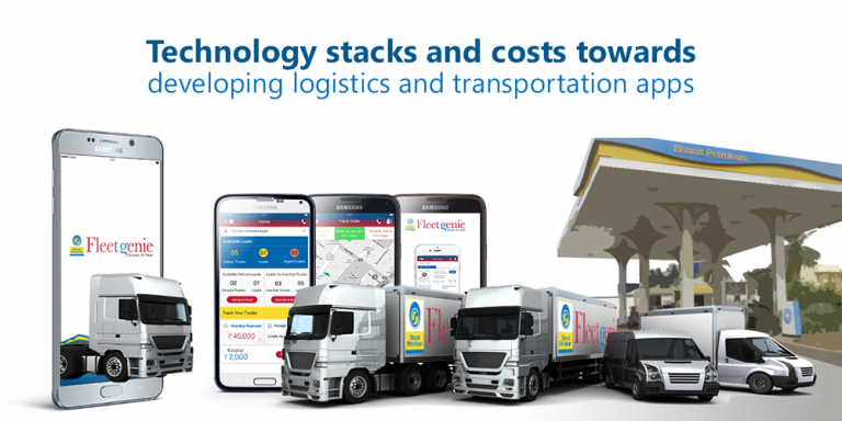 Technology Stacks and Costs Towards Developing Transportation Apps