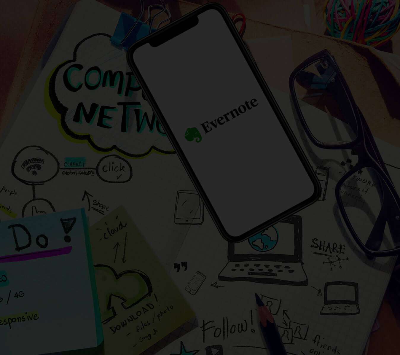 Evernote-app-Features-background - FuGenX