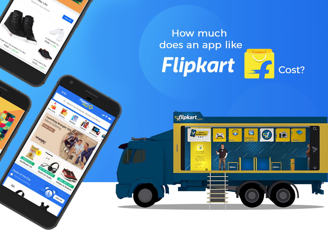 How Much Does it Cost to Develop an App like Flipcart