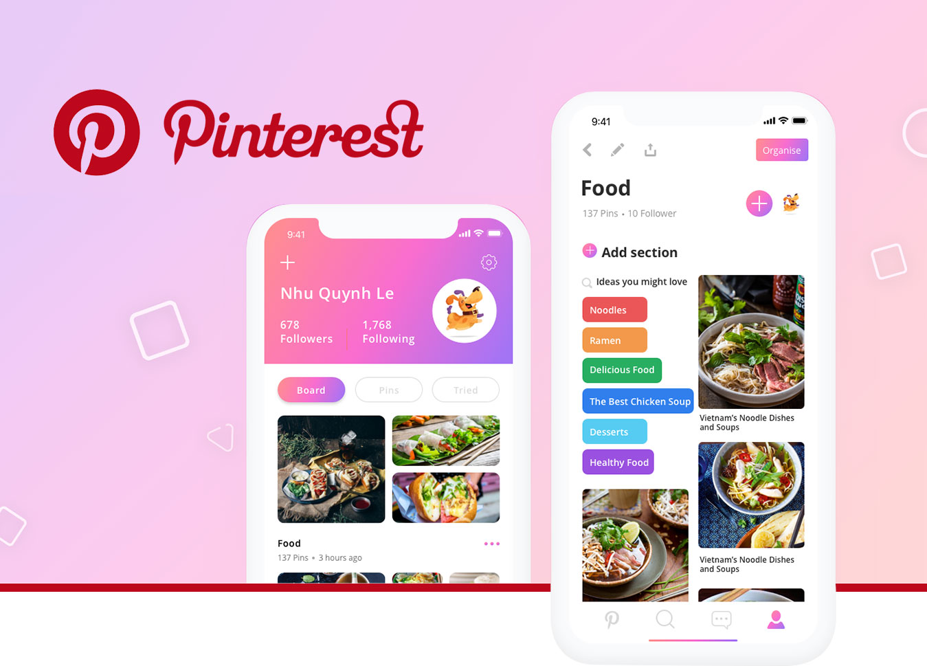 How Much Does it Cost to Develop an App like Pinterest