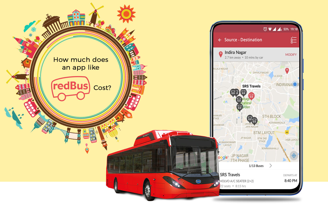 How Much Does it Cost to Develop an App like Red-bus
