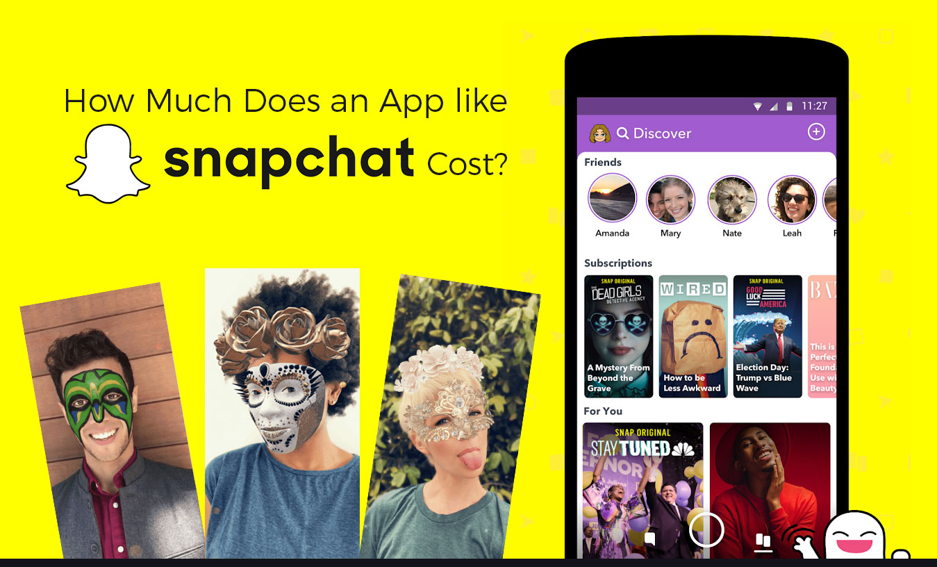 How Much Does An App Like Snapchat Cost