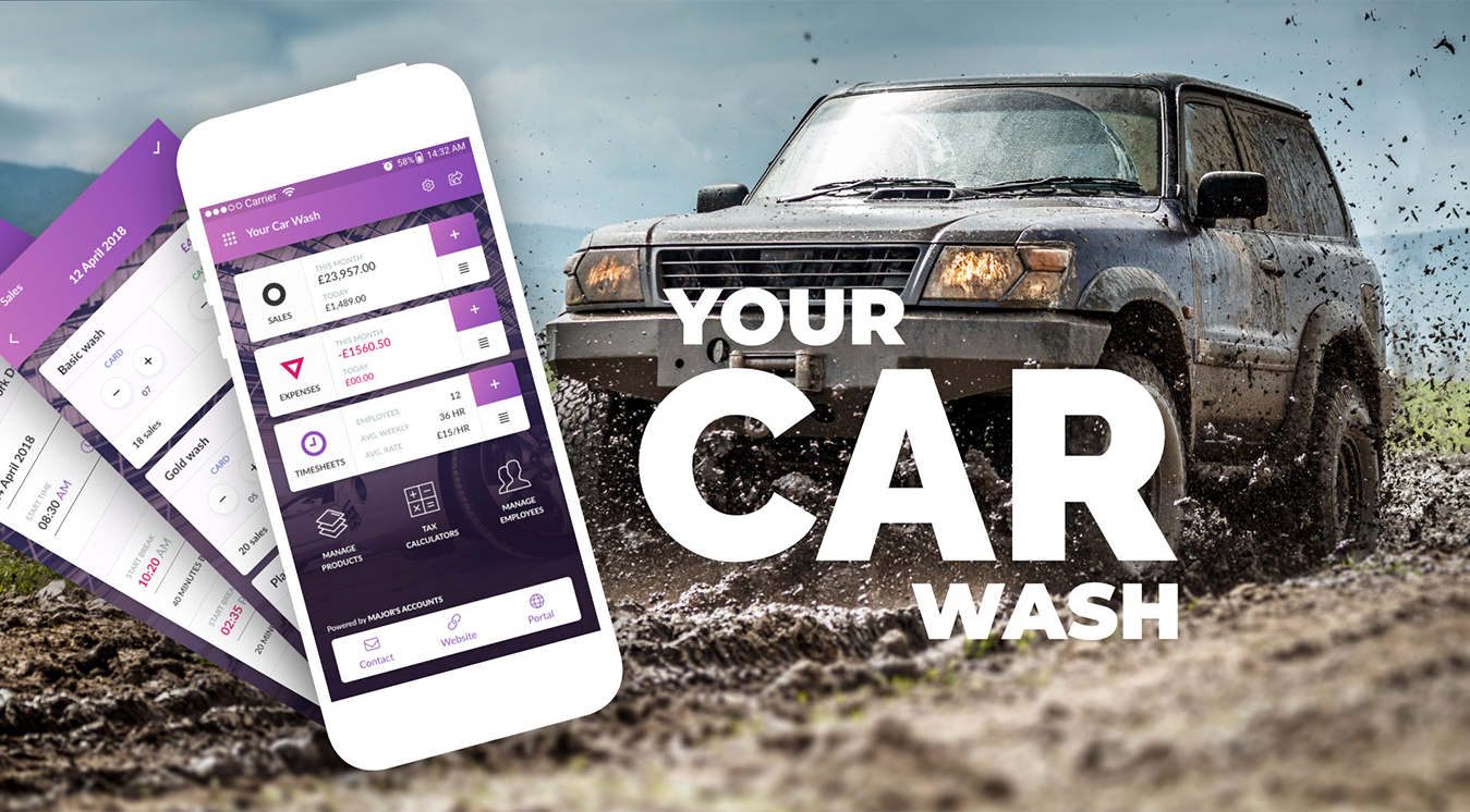 Overview of car wash app