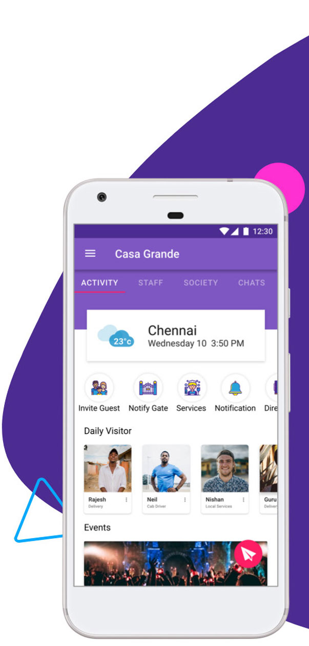 Features-of-Neighbourly-App