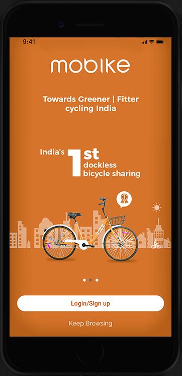 Mobike-Sharing-App-UI-designers