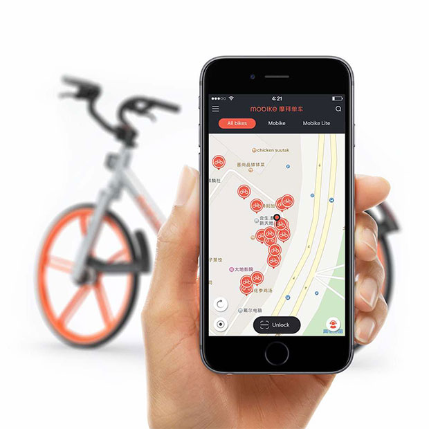 Mobike-Sharing-App-team-Structure