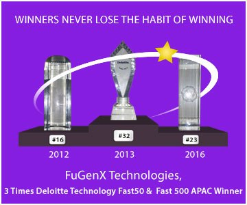 Deloitte Technology Fast 50 India 2016 (Ranked # 23)