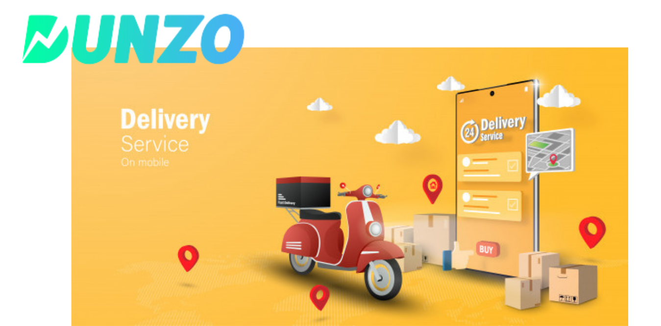 Cost To Develop an  On Demand Food Delivery App Like Dunzo